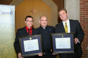 With Jeff Hatgas and James Haitz, first-time co-recipients of the 2012 Beaudry Award, May 2012.