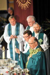 Homecoming and Magis Mass, October 2012