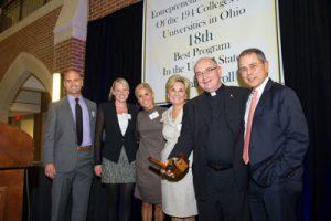 With the Harrington Family at the Muldoon Awards, November 2012