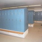 Men's and Women's Locker Rooms