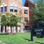 Image with Hamlin Hall