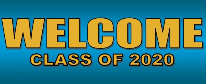 welcome class of 2020 - feature 1