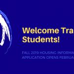 New Transfer Student Housing – Office of Residence Life