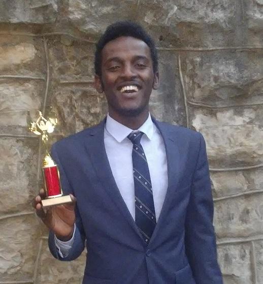 Adil Abdulahi, '20 Speech Tournament Champion