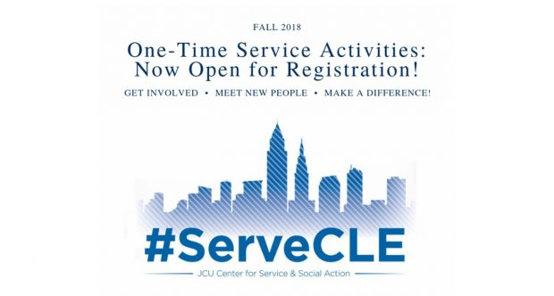 Registration Now Open for One Time Service Opportunities