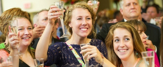 Commencement 2015Senior Toast-cropped