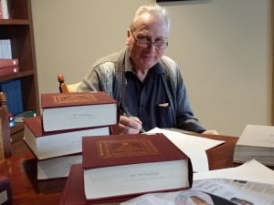 Michael Fitzgerald with Books Pic2