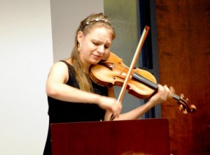 Lavina Pavlish and violin